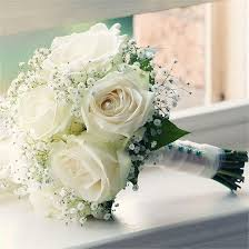 white wedding bouquets jo tom s real wedding wedding flowers small flowers leaves