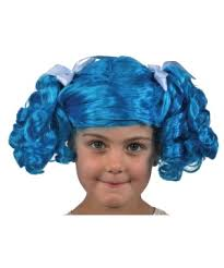 Lalaloopsy Halloween Costumes Lalaloopsy Mittens Fluff Stuff Girls Wig Kids Costumes Kids
