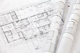 architect plans architect rolls and plans architectural plan stock photo picture