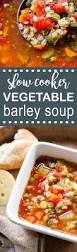 slow cooker vegetable barley soup simple recipes diy tutorials