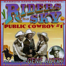 cowboy 1 the of gene autry riders in the sky
