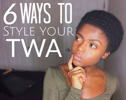 6 cute ways to style your natural twa 3c 4a 4b u0026 4c friendly youtube