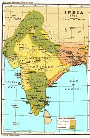 India On A Map India Historical Maps