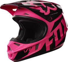 motocross fox gear 2017 fox v1 race youth kids motocross helmet pink 1stmx co uk