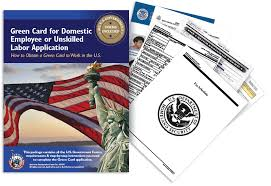 green card for domestic employee or unskilled labor application
