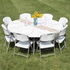 used 60 round banquet tables round folding table 72 heavy duty plastic white granite