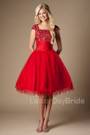 modest homecoming dresses avalynn red