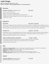 one page resume examples resumess franklinfire co