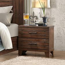 unique distressed wood nightstand 33 in small home remodel ideas