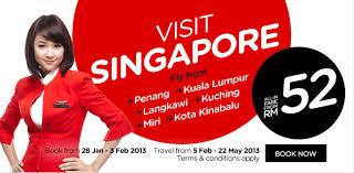 airasia singapore promo airasia promotion jan 2013 malaysia airport klia2 info