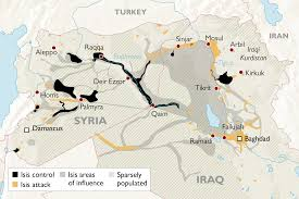 Iraq Province Map The Decline Of Isis Control Across Iraq And Syria In Maps World