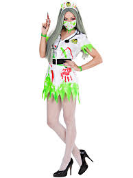 Toxic Halloween Costumes Adults Toxic Nurse Doctor Costume Mens Ladies Zombie Dr Halloween