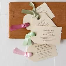 wedding luggage tags luggage tag wedding invitation by twenty seven