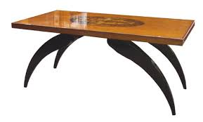 Art Deco Coffee Table by Inlaid Art Deco Coffee Table Modernism Gallery