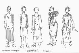 the competent eclectic sketch artist hyphenate fashion sketches