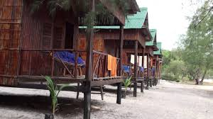 view of the bungalows at sandy beach bungalows on koh rong samloem