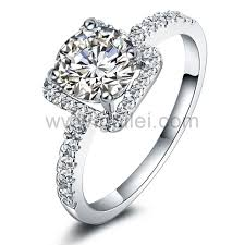 wedding rings women personalized name synthetic diamond wedding rings for women