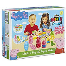 Peppa Pig Play Doh Peppa Pig Dough Mould And Play 3d Figure Maker Multi Colour Peppa
