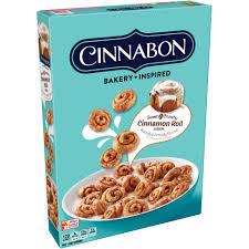 Breakfast Food Cereal Walmart Com by Kellogg U0027s Cinnabon Cinnamon Roll Cereal 9 Oz Box Walmart Com