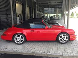 porsche 964 red 1990 porsche 911 carrera 4 cabrio 964 for sale