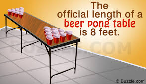 how long is a beer pong table want to buy a beer pong table know all about its available sizes
