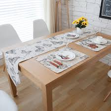 chemin de table mariage aliexpress buy table runners butterfly printed retro pattern
