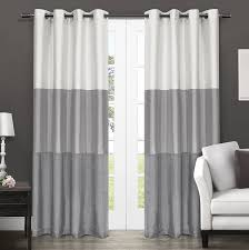 Chezmoi Collection Curtains by Amazon Com Exclusive Home Curtains Chateau Striped Faux Silk