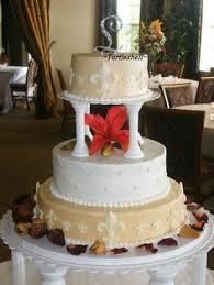fleur de lis cake topper fleur de lis wedding cake cupcake tower cake