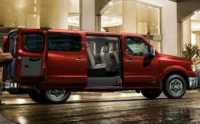red nissan 2012 2012 nissan nv 3500 passenger van pricing announced starting at