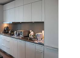 custom cabinets hendersonville nc modern elephant gray kitchen cabinetry with stainless steel trim