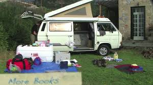 volkswagen eurovan camper interior a year in our westfalia packing up youtube