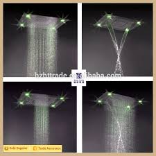 Ceiling Mounted Rain Shower by Led Fixed Shower Heads Ceiling Overhead Rain Shower Buy Led