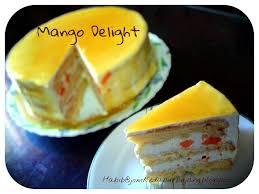Kek Mango jom ke dapur bujang jom ke dapur mango delight cake
