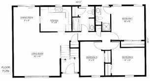 split level floor plan bi level floor plans 5000 house plans