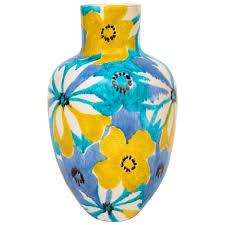 Ceramic Football Vase Jonathan Adler Couture Ceramic Vase For Sale At 1stdibs