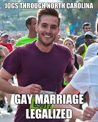 Gay Marriage Meme - ridiculously photogenic guy returns weknowmemes