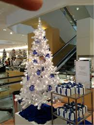 neiman marcus trees my blue dots