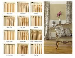 Curtain Style Best 25 Curtain Headings Ideas On Pinterest Pleated Curtains