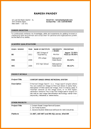 Computer Science Engineering Resumes For Freshers Sle Resume For Freshers 28 Images Computer Science Certificate