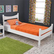twin size beds for girls amazon com kidkraft addison twin bed white toys u0026 games