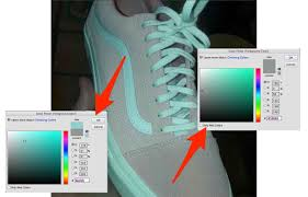 shoes that look both pink and white or teal and gray are dividing
