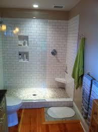Bathroom Shower Ideas On A Budget Colors Here U0027s An Inexpensive Prefabricated Doorless Walk In Shower