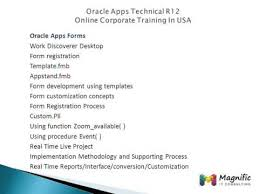 oracle apps technical r12 online training and real basic concepts