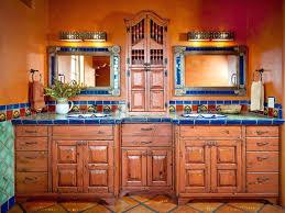 mexican tile bathroom designs tiles mexican tile wall mirror mexican tile countertop ideas