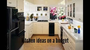 Small Kitchen Designs On A Budget by Kitchen Ideas On A Budget Kitchen Ideas For Small Kitchen Youtube