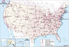 Usa Highway Map Us Road Map Kredi Notu