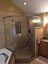 Shower With Door Glass Shower Door Installation Michigan Frameless Doors