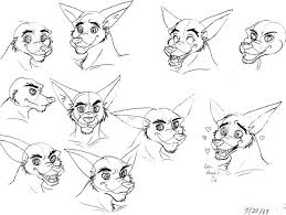 tiny the tiger sketches by kaicoyote on deviantart
