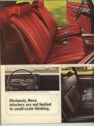 Nova Interiors 1969 Nova Specs Colors Facts History And Performance Classic