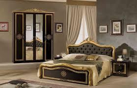 schlafzimmer klassisch schlafzimmer in schwarz silber klassisch designer luxus4tlg